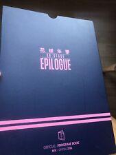 BTS Epilogue On Stage Programme Book (UK Seller)
