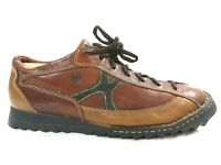 BORN Mens Brown Tri-Tone B5449 Leather  Lace Up Oxford Sneakers Shoes Sz 12/46