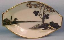 Hand Painted Nippon Open Salt Celery Dip Tree by River Porcelain Vintage
