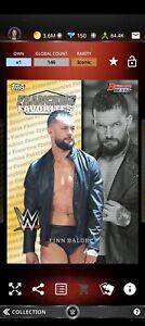 Topps WWE SLAM Digital 2021 Bowman's Best Franchise Favourites Finn Balor 146CC