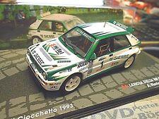 LANCIA Delta Integrale HF Rallye 1993 Italy #1 Fiorio Giesse SPreis IXO Al 1:43