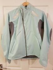 Mens Reebok Running Jacket / Top With Backlight Size Small