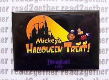 Disneyland Mickey's Halloween Treat Button