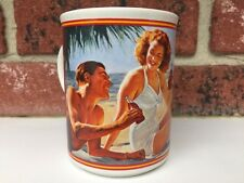 Coca-Cola Through the Years 1946 Mug Heirloom Collection 1987 Delicious Drink