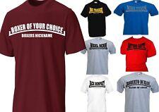 Boxing T-Shirt Wähle Deinen eigenen Boxer und dort Spitzname Duran Tyson Ali GGG