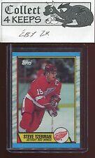 1989-90 Topps #83 Steve Yzerman (HoF Detroit Red Wings)