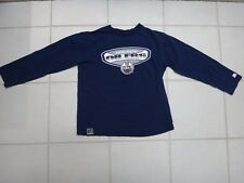 Edmonton Oilers Long Sleeve Jersey/T-shirt~NHL~Cotton~Youth/Child L (14-16)~GUC
