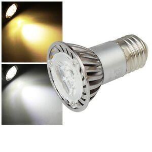 1/3/5/10 Stück LED Leuchtmittel E27 230V 4,5W EEK: A+ Strahler-Form Lampe Spot
