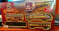 Xmas TRAIN  BATTERY OPERATED Railways Passenger battery operated Train Set