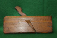 """Antique Vintage 3/8"""" Side Double Box Bead Woodworking Moulding Plane Inv#FB19"""