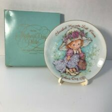 Vintage Avon Mothers Day Plate 1981 Cherished Memories Last Forever +box, easel