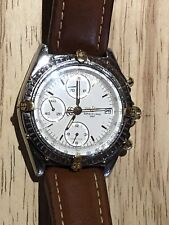 Breitling Chronomat B13050 Gold and Stainless Steel