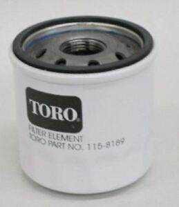 NEW GENUINE OEM TORO PART # 115-8189 ENGINE OIL FILTER; REP. 100-1892, 125-9084