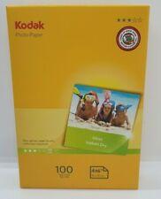 100 Blatt 260g//M2 10.2x15.2cm A4 Glänzend Fotopapier Für