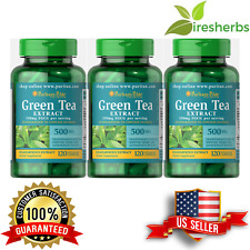 GREEN TEA EXTRACT 500 MG EGCG STANDARDIZED WEIGHT LOSS SUPPLEMENT 360 CAPSULES