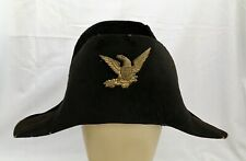 19th Century Pre-Civil War Army Officer's Chapeau (hat & Original Box Identified