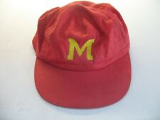 Incredibly Rare Vintage Mighty Max Hat Cap Universal Bluebird Red Cap Yellow M