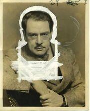 Striking Maxwell Anderson Portrait By Vandamm. 1933