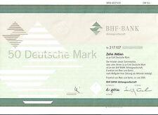 BHF Bank Aktiengesell. Frankfurt 1995 ING Group Oppenheim 10 x 5 DM Sammelaktie