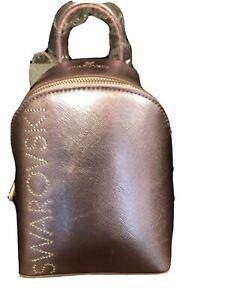 """New in Box Swarovski Sparkling Mini backpack Bag Pink Size 7""""x6""""x3"""" #5592173"""