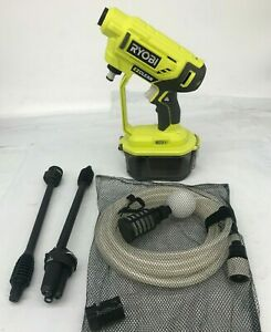 RYOBI RY120350 ONE+ 18-Volt 320 PSI Cold Water Cordless Power Cleaner GR, M