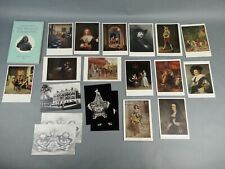 The Wallace Collection Lot of 19 Booklet Postcards Vintage Paper Ephemera