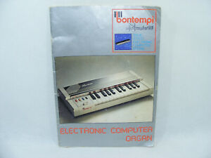 Notice BONTEMPI MEMOPLAY 26 Electronic Organ FRancais Italia Dutch English Piano