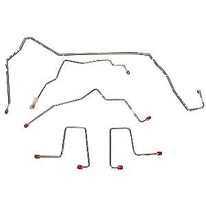 98-00 Chevrolet Blazer Front Brake Line Kit 4WD