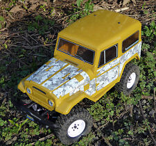 RC Rock Crawler WINTER CAMOUFLAGE Stickers Decals FTX RGT HSP OUTBACK TUNDRA