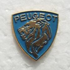 PEUGEOT LION ENAMEL LAPEL PIN BADGE. 13x20mm. BUTTERFLY PIN FIXING