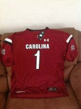 under armour south carolina ncaa football jersey NWT size 4XL  mens