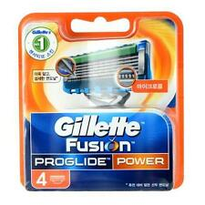 Last 1pc Gillette Fusion Proglide Power Men's Razor Blade Refills 4 Cartridge