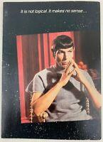 Star Trek TOS 1985 Greeting Card Spock 3 Vintage