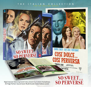 So Sweet So Perverse Limited Deluxe Collector's Edition Blu-Ray   1969