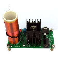 Mini Tesla Coil Plasma Speaker Kit Electronic Field Music 15-24V15W DIY Project