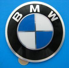 BMW centro ruota hub cap badge 70mm AUTOADESIVO IN ALLUMINIO ORIGINALI