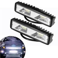 """2x 6"""" LED Zusatzscheinwerfer Arbeitsscheinwerfer Scheinwerfer Lampe Auto Offroad"""