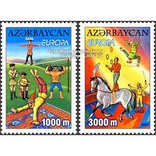 Aserbaidschan Azerbaijan Europa CEPT 2002, Zirkus, Satz ** komplett (postfr.)