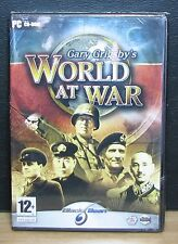 WORLD AT WAR - GARY GRIGSBY'S - Pc - 2005 Matrix Games - SEALED NUOVO - 12+