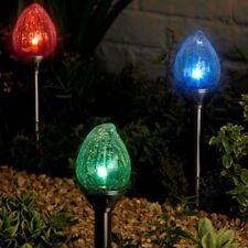 Artículos de iluminación de jardín tradicionales plástico LED