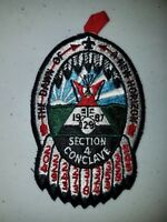 Boy Scout OA Section SE-4 1987 Conclave Egwa Tawa Dee Patch