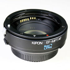 Adaptador de enfoque automático Kipon Baveyes 0.7x Canon EOS EF Lente Micro 4/3 MFT OM-D