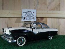 1955 Ford Fairlane Crown Victoria Sunliner Danbury Mint 1:24 Scale Diecast Car