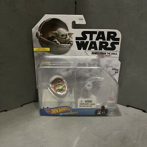 STAR WARS MANDALORIAN THE CHILD HOVER PRAM BY HOT WHEELS - IN STOCK SHIPPING NOW