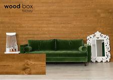 Peel and Stick Pine Wood Panel Planks Wall Decor 20 sq. ft.12-Count Box Cinnamon