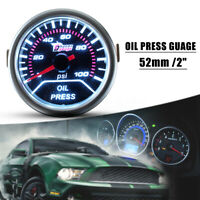 2'' 52mm Auto Car Digital LED Oil Press Pressure Gauge Pointer Meter Sensor