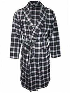 Tommy Hilfiger Cozy Fleece Robe Men's Dressing Gown (One Size Fits Most)
