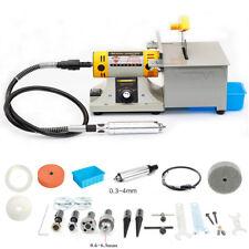 110V 350W Jewelry Rock Polishing Buffer Machine Bench Lathe & Grinder Tool Kits