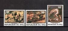 Mali Michelnummer 615 - 617 postfrisch (Kunst 565 )