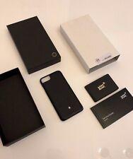 MONTBLANC *MST* Leder iPhone 7 Hülle Hardphone Case Cover NP:200€ 116904 -1666